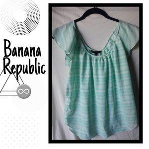 ♾Banana Republic flowey blouse